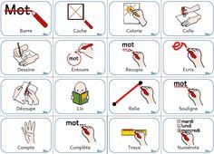 Mémo des consignes - Zedra - Dans ma valise pédagogique... site valisepeda OK OK OK