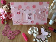 Carte de naissance pour Liz - something for Baby - petite pirouette