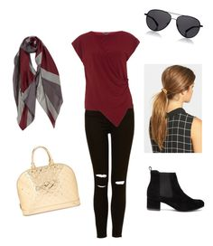 """""""Fall Fashion!"""" by paige-wales on Polyvore featuring Dorothy Perkins, The Row, Ficcare and Louis Vuitton"""