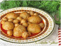 analı kızlı köfte Turkish Recipes, Healthy Living, Potatoes, Pasta, Vegetables, Food, Allah, Healthy Life, Potato