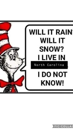 Living In North Carolina, East Tennessee, Life Is Good, Rain, Weather, Snow, Nashville, Safety, Cartoons