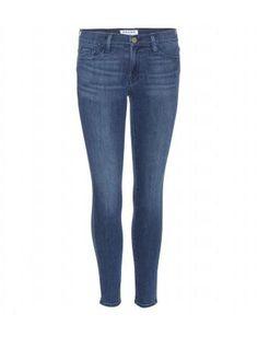 Le Skinny De Jeanne Cropped Jeans by Frame #mytheresa #skinnyjeans #covetme #denim #frame #fashion #jeans