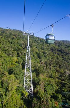 Riding the Skyrail Rainforest Cableway and Kuranda Scenic Railway in Cairns - Australia