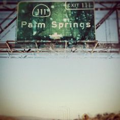 Palm Springs - love my twice a year trips to the desert; beautiful weather, cool architecture, and great food!