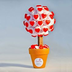 Red Haribo Heart Marshmallow Tree by Sweet Trees, the perfect gift for Explore more unique gifts in our curated marketplace. Marshmallow Tree, Candy Trees, Bar A Bonbon, Sweet Carts, Strawberry Hearts, Sweet Trees, Chocolate Bouquet, Chocolate Chocolate, Candy Bouquet