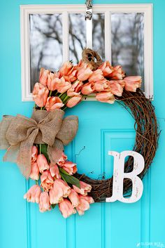 I don't know about your part of the world but here in sunny AZ spring is well on its' way. These cheery spring wreaths will help get you out of those winter blues and straight into spring fever. I am just loving all of these pretty spring wreaths that these creative bloggers have come up with to …