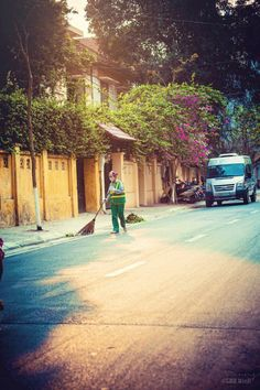 Street Cleaners are always working...