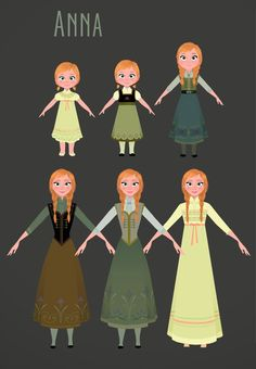 An article about the costumes of Frozen by the costume designer, Brittney Lee.