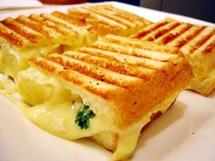 Grilled Cheese Pineapple Sandwich