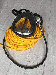 Davv Hose Mask and Regulator for Hookah Dive System - http://scuba.megainfohouse.com/davv-hose-mask-and-regulator-for-hookah-dive-system/
