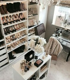 Glam Room Decoration Ideas 1 Glam Room Decoration Ideas 1 – Home Accents Dream Closets, Dream Rooms, My New Room, My Room, Closet Bedroom, Bedroom Decor, Wardrobe Room, Master Closet, Dressing Design