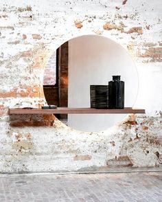 #fernandoleonespacios #baño #bath #efectoespejo #ladrillo #crudo #natural #diseño #arquitectura #design #efect #interiorismo #decoracion #madera #simple #pedreguer #alicante