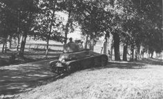 Latvian Vickers tank 1937