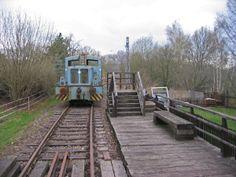 Alte Schmalspurbahn in der Nähe von Waldheim
