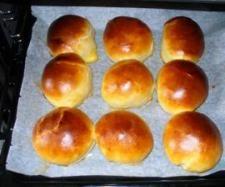 Rezept Milchbrötchen mit Buttermilch von Hurraichkannkochen - Rezept der Kategorie Backen süß