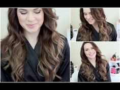 she has so many easy and fun hairstyles with some good videos Voluminous Every Day Curls / Waves