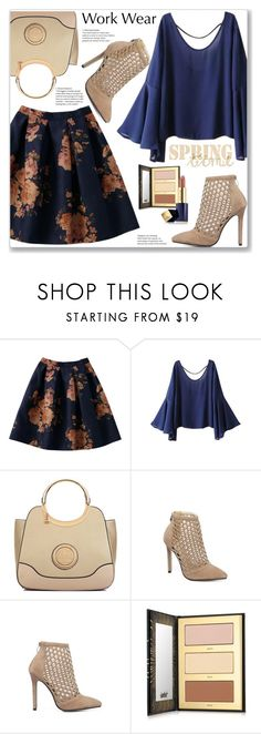 """Work Wear"" by jecakns ❤ liked on Polyvore featuring Dasein, tarte and Estée Lauder"