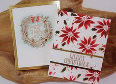 STAMPtember Simon Says Stamp + Tim Holtz Holiday Cards.. * * * SUPPLIES LISTED…