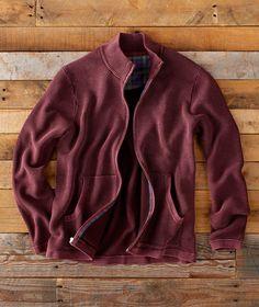 U-WARDROBE Mens Corduroy Thermal Shirt Jacket Fall Chunky Long Sleeve Button Down Flannel Shirt
