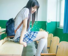 """Find and save images from the """"School / Uniforms 🎒🍱"""" collection by GoddessNa on We Heart It, your everyday app to get lost in what you love. Cute School Uniforms, School Uniform Girls, Girls Uniforms, School Girl Japan, Japan Girl, Sweet Girls, Cute Girls, Kawai Japan, High School Fashion"""