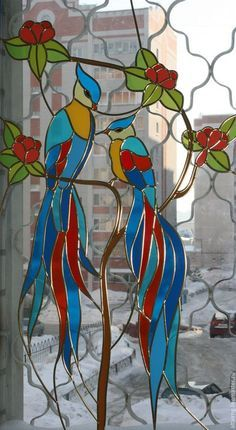 livemaster.ru stained glass | stained glass on Pinterest | Faux Stained Glass, Stained Glass ...