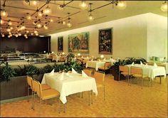 Palast der Republik, Innenansicht, Linden Restaurant