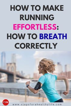 Out of breath while running?how can you make your running effortlessly? These breathing techniques for runner will make your run feel much easier y you will run fast further. Discover how you need to breath properly to make your run easier & take your run to the next level. effortless running,how to breath while running,running for beginners,running tips,run faster further,how to breath running
