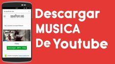 Descargar MUSICA Y VIDEOS de YOUTUBE sin ninguna aplicacion 2015