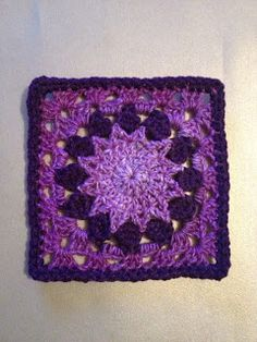 "365 Granny Squares Project: ""Easy granny squares""......."
