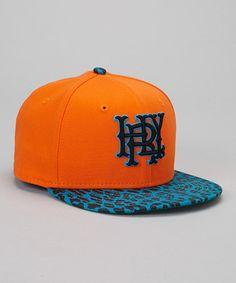Orange & Blue Baseball Cap | Hurley