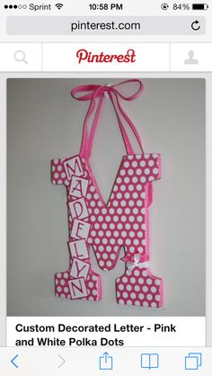 Decorated letters