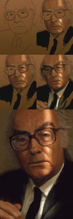 Gostar é provavelmente a melhor maneira de ter, ter deve ser a pior maneira de gostar. -  Digital Painting  Tools: Wacom Bamboo + Photoshop