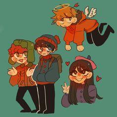 South Park Anime, South Park Fanart, Best Comedy Shows, Kenny South Park, Oc Base, South Park Characters, Cartoon Art, Memes, Character Art