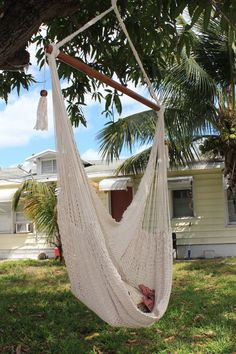 "Handmade by Artisan from Masaya, Nicaragua, these hammocks will sure look great in your backyard this spring or at the beach this summer. Made from 100% Cotton.        Meant for 1 Person  39"" bar  weighs 6 lbs  weight limit 250lbs    If you have any questions as to how to hang one, please contact me!   I used a tow strap, threw it over a branch, and sized the length so it hung properly.  In no time I was in my backyard relaxing!"