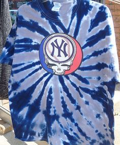 SALE Steal Your Yankees Grateful Dead Style by sherrishempdesigns