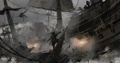"""Credit to ship modeling team and whoever involved in the ship design!!  Referencing Christopher Blossom's work ~ """"Before the Gale"""""""