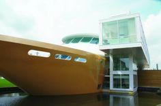 Wellnessboot - Buiten www.fitland.nl/wellnessboot #spa #thermen #wellness #wellnessboot #Mill