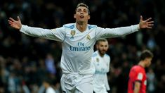 Cristiano Ronaldo scored a hat-trick as Real Madrid hit form ahead of Thursday's (AEDT) UEFA Champions League tie with Paris Saint-Germain, demolishing Real Sociedad 5-2.