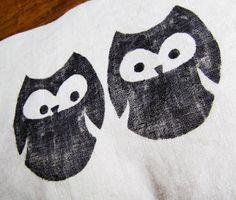 The Verandah: Owl Pillow