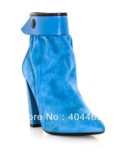 Aliexpress.com : Buy new 2013 fashion sapatos blue high heels ankle boots women motorcycle boots from Reliable sapatos suppliers on Mizsexy Fashion $58.00