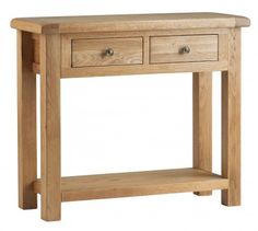 Corndell Lovell Console Table L534 at £240.08