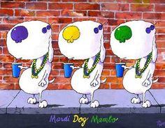 Mardi Dog Mambo by Jim Tweedy