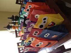 Monster party goodie bags