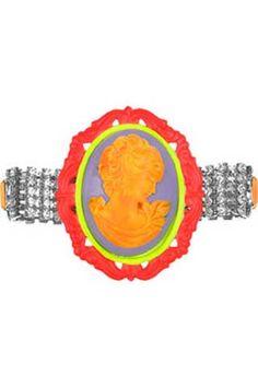 Samba Swarovski  Crystal Cameo Bracelet