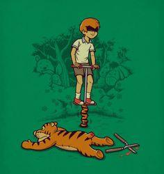 Tigger from 'Winnie-the-Pooh' - Ben Chen -- morbid childhood!