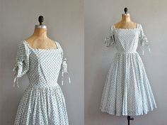 vintage 1950s Believe in Music dress