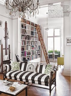 I'm battling a cold right now but the new LivingEtc issue just cheered me up! Especially the extraordinary house of interior designerHarriet Anstruther and her family. Swoon.