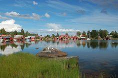 Skärså, en idyll vid Hälsingekusten. Sweden  Nära havet vill jag bo..  Foto: Mats Fallqvist, Länsmuseet Gävleborg