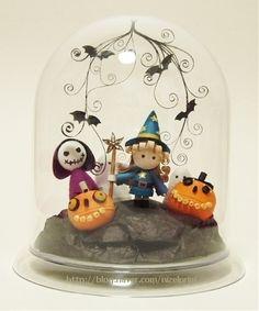 Quilled Halloween