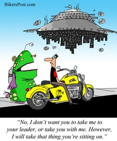 Motorcycle Abduction
